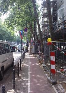 Straßenblockade 3