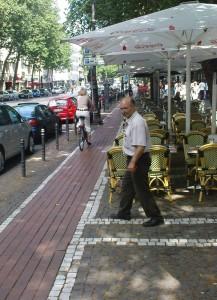 Eine benutzungspflichtige Fahrbahn!