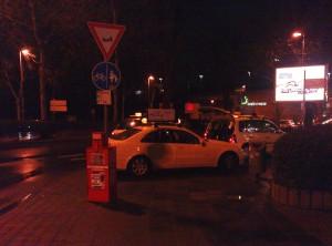 Radwege zu Taxiplätzen