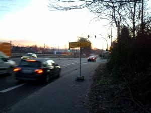 Umleitung Aachener Straße