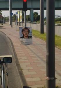 Frau Merkel kommt!