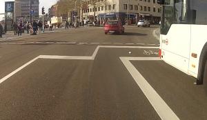 Aufstellfläche Wiener Platz